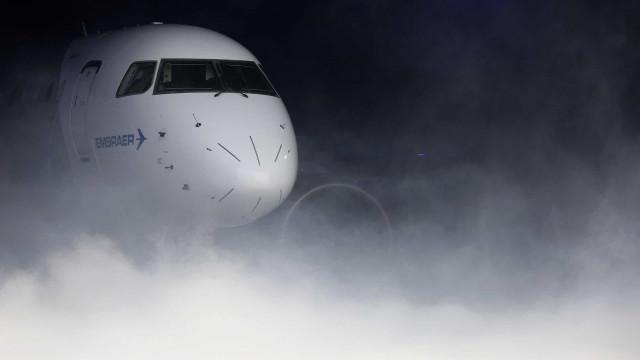 Embraer prevê procura de 10.550 aeronaves com até 150 lugares em 20 anos