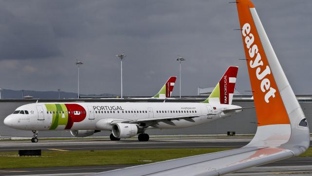 Seis voos cancelados desde a meia-noite, cinco a partir de Lisboa