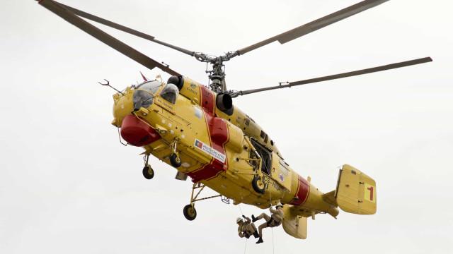 Governo espera que três Kamov estejam operacionais para combater fogos