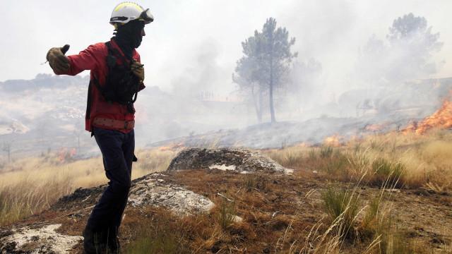 Cerca de 70 pessoas retiradas de casas em Gavião devido a incêndios