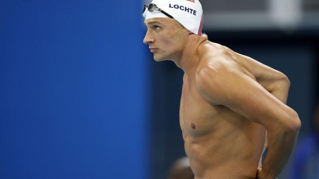 Nadador Ryan Lochte em tratamento contra o abuso do álcool