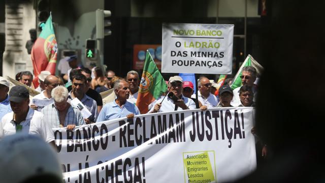 Lesados do BES protestam hoje contra o Governo e associações