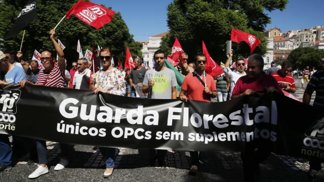 Guardas-florestais iniciam greve de três dias