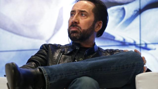 Nicolas Cage é o embaixador do festival internacional de cinema de Macau