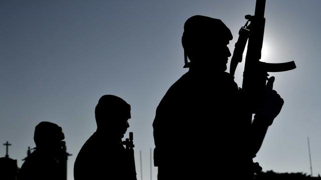 Militares a caminho de Proença-a-Nova para vigiar floresta não ardida