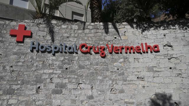 Trabalhadores do Hospital da Cruz Vermelha estão hoje em greve