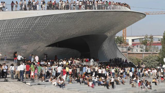 Museu MAAT cumpre um ano com mais de meio milhão de visitantes