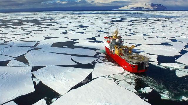 Estudo indica que perda de gelo na Antártida é contínua e a aumentar