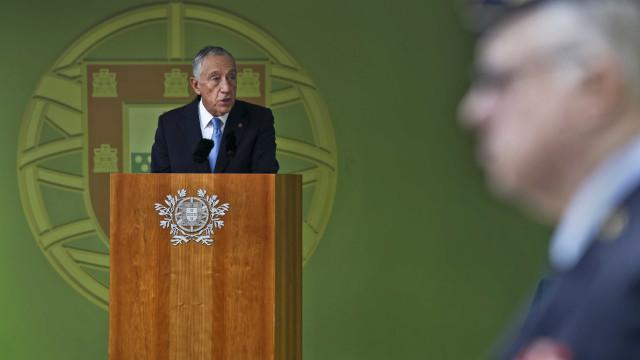Marcelo fala hoje ao país. Faz declaração às 18 horas