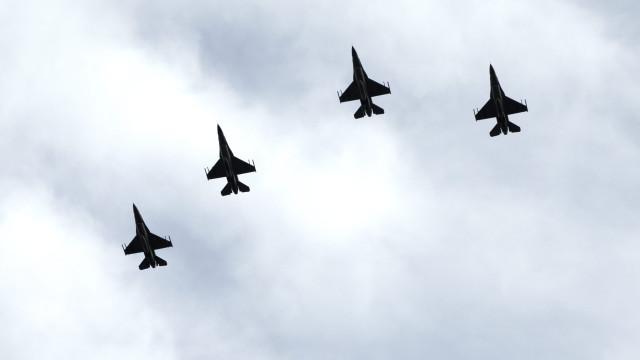 Destacamento americano em Monte Real com impacto de quase um milhão