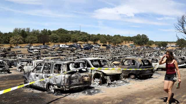 Lesados do incêndio no festival Andanças reclamam 831 mil euros