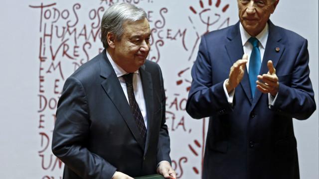 Marcelo reúne-se hoje com António Guterres em Nova Iorque