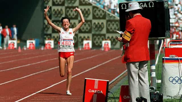 Rosa Mota vence mini-maratona de Macau três décadas após ouro em Seul