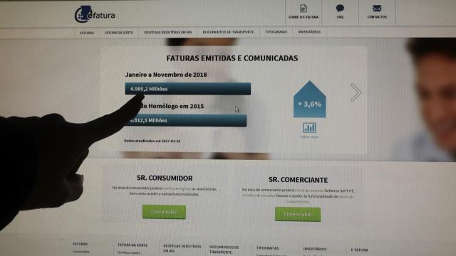 Governo começa hoje a ser julgado por plágio na criação do site e-fatura