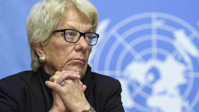 Procuradora demite-se da Comissão de inquérito da ONU para a Síria