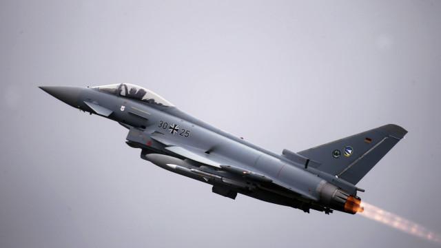 Caça espanhol dispara acidentalmente míssil em treino militar na Estónia
