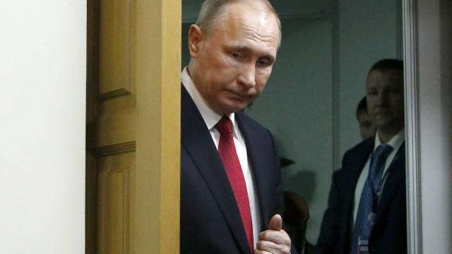Putin envia condolências a famílias das vítimas de explosões