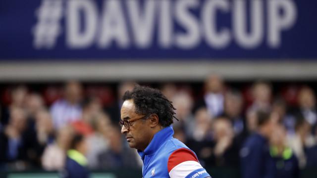 Yannick Noah distinguido pelo seu contributo na Taça Davis