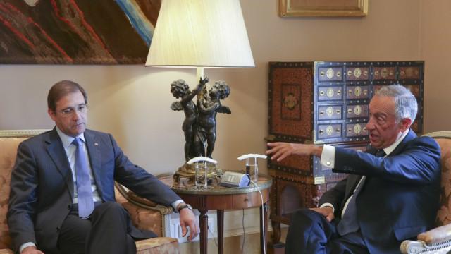 Presidente da República recebe hoje em Belém o líder do PSD