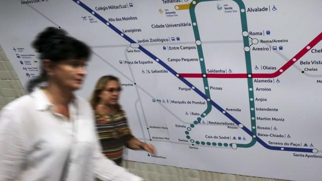 Conclusão da estação de metro de Arroios atrasada