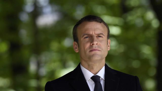 Emmanuel Macron toma hoje posse como presidente de França