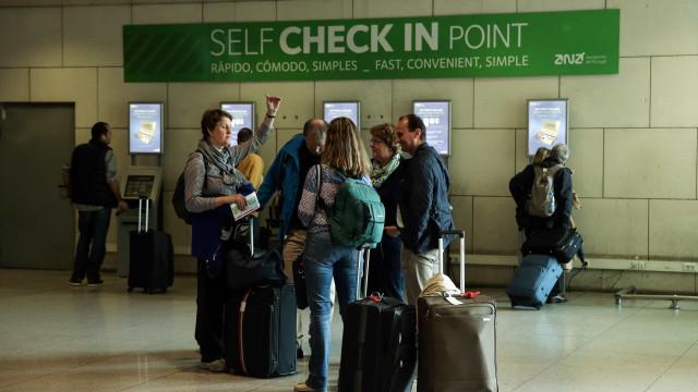 Greve na segurança privada dos aeroportos pode causar atrasos nos voos