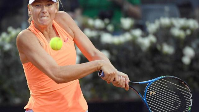 """Amor ao ténis de Sharapova """"não diminuiu com suspensão e lesão"""""""