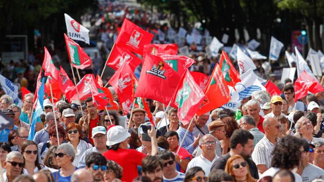 Milhares de trabalhadores participam hoje em manifestação da CGTP