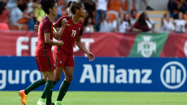 Seleção portuguesa feminina mantém 38.ª lugar no 'ranking' FIFA