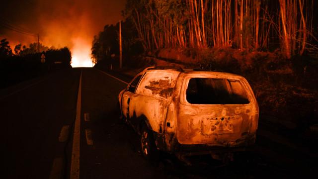 Incêndio de Pedrógão causado por descarga elétrica e o de Góis por raio