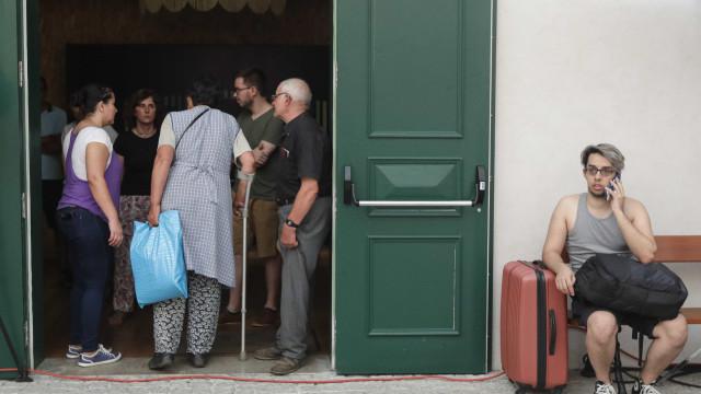 Moradores deslocados nos últimos dois dias em Góis já estão em casa