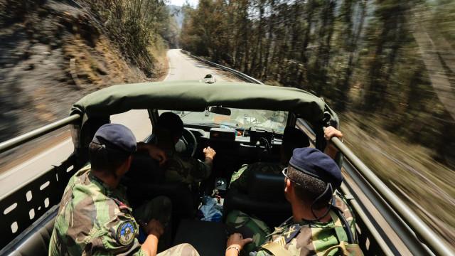 Marinha destaca 154 militares apoiar população de Pedrógão