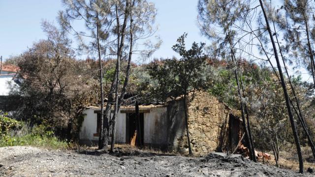 Incêndio de Pedrógão devastou por completo mais de duzentas habitações