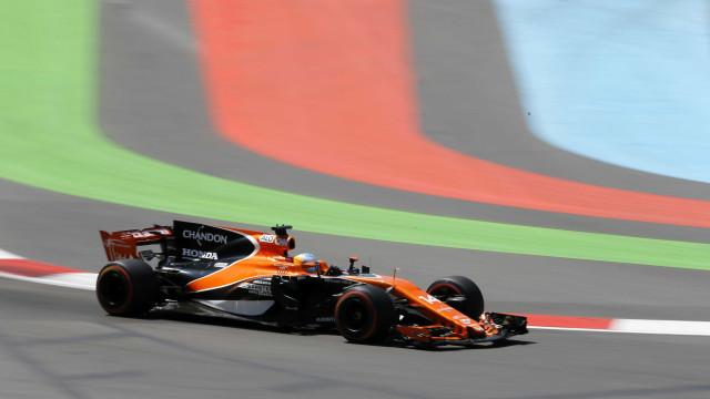 Alonso com penalização de 40 lugares no GP do Azerbaijão