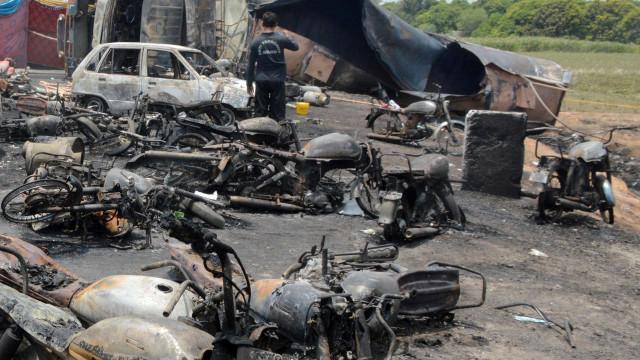 Número de mortos em explosão de camião no Paquistão sobe para 153