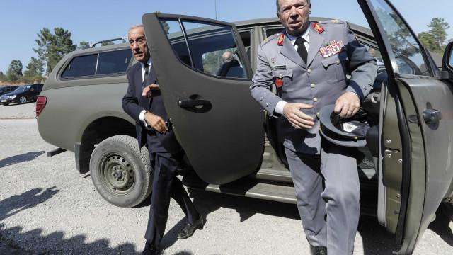 Audição do chefe do Exército ficou marcada para quinta-feira