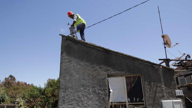 Santa Casa apoia reconstrução de 13 casas em Pedrogão Grande