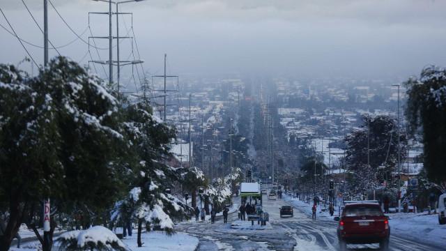 Nevões no Chile causam um morto, dois feridos e milhares de casas sem luz