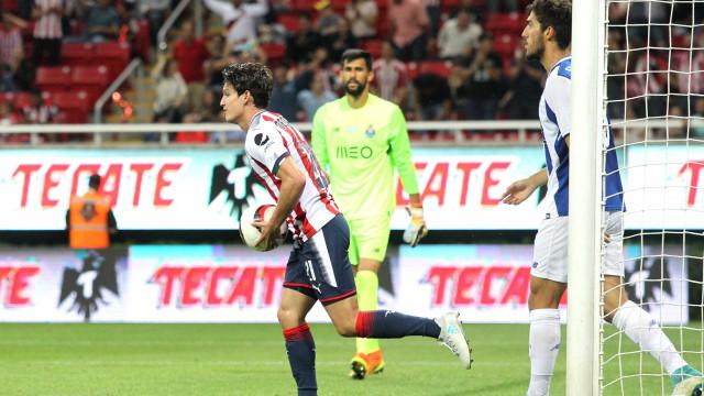 FC Porto empata com o Chivas no último jogo no México