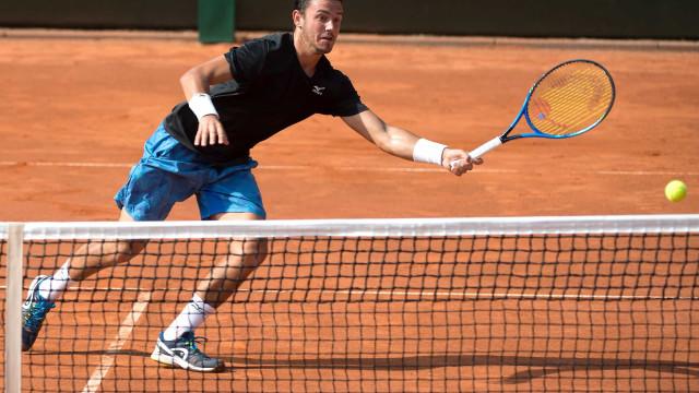 Gonçalo Oliveira subiu 35 lugares e entrou no 'top 250' do ranking ATP