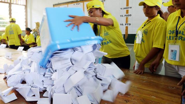 """Legislativas em Timor foram """"credíveis, transparentes e bem organizadas"""""""