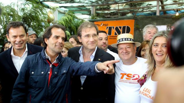 """Passos Coelho diz que o PSD precisa de """"pôr todas as forças no terreno"""""""