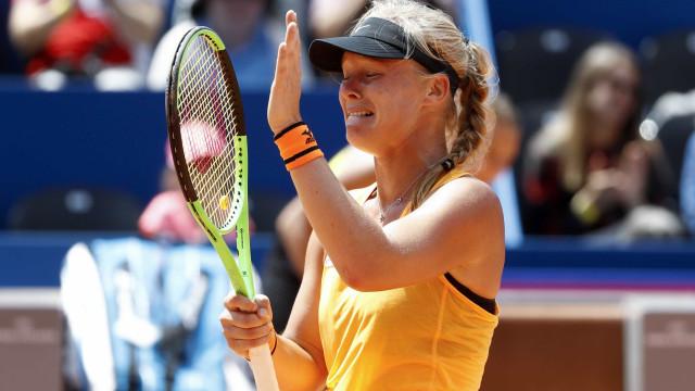 Kiki Bertens vence torneio de ténis de Gstaad