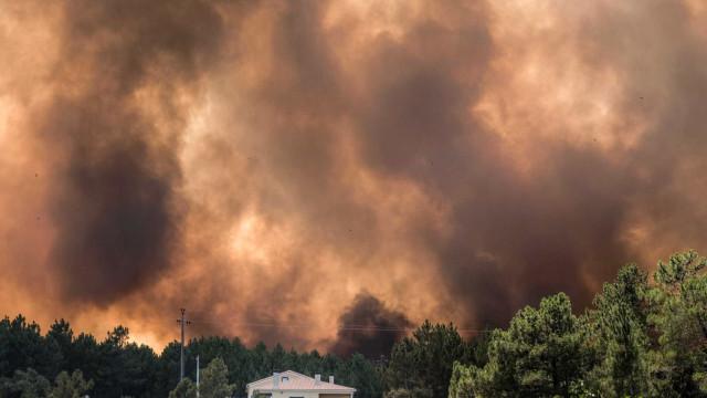 Incêndios: Castelo Branco e Santarém são os distritos que mais preocupam