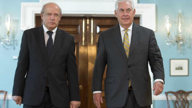 Santos Silva debateu Coreia do Norte com secretário de Estado dos EUA