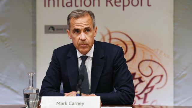 Banco de Inglaterra mantém juros e revê em baixa crescimento económico