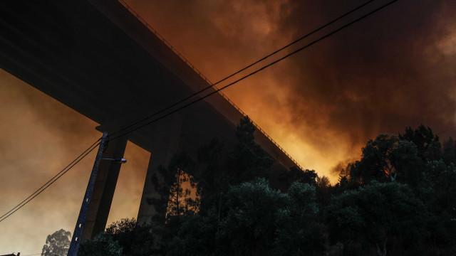 Incêndio em Abrantes volta a cortar A23