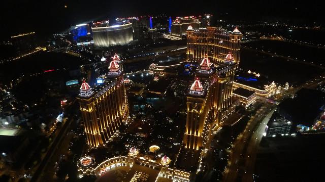 Casinos de Macau com receitas de 2,346 mil milhões de euros em setembro