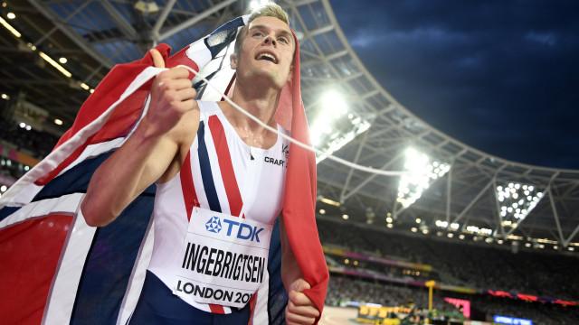 Filip Ingebrigtsen surpreende e dá título à Noruega nos Europeus
