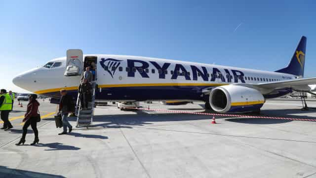 Ryanair cancela cerca de dois mil voos até final de outubro